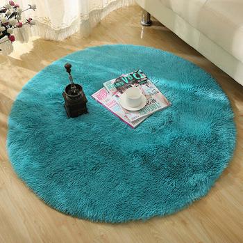 Горячая распродажа высокое качество коврики современный лохматый круглые ковры и ковры для гостиной спальни ковер коврик для дома коврик для йоги