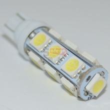 Hot sales Super Bright T10 13 SMD W5W LED 5050 Car led light 194  light 13SMD auto light  for car reserve light(China (Mainland))