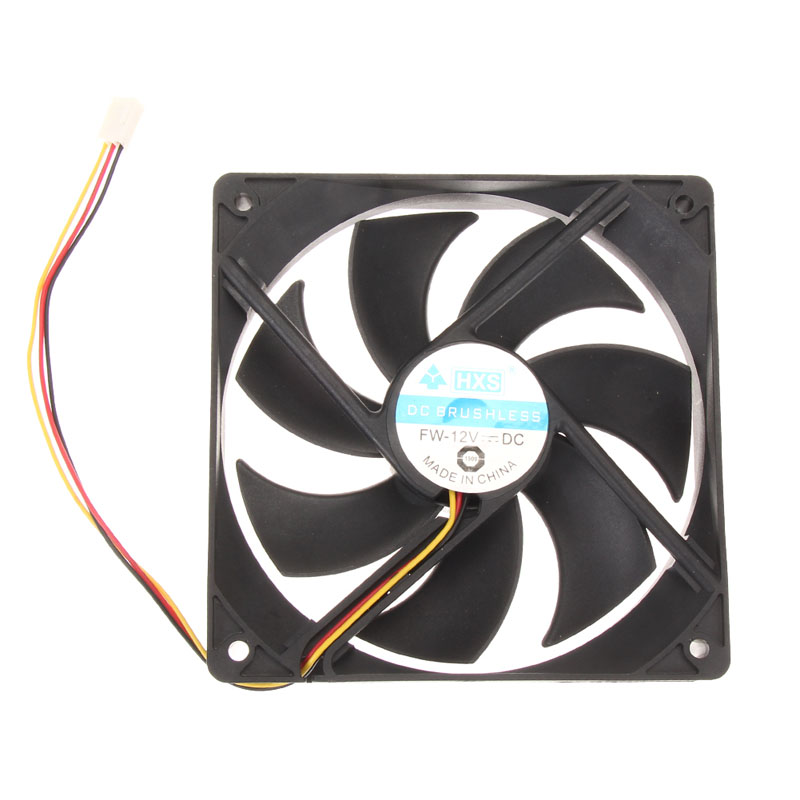 New 120x25mm 12V 3Pin DC Brushless PC Computer Case Cooling Fan 1 pc High Quality(China (Mainland))