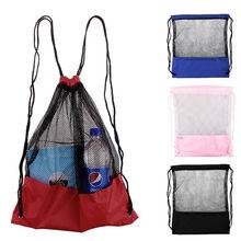 Tavel Ultralight Mesh Stuff Sack Drawstring Bag Backpack(China (Mainland))