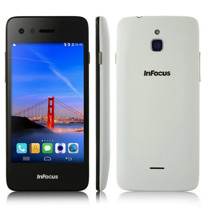 Мобильный телефон Foxconn Infocus 2 4G FDD LTE MSM8926 4.4 4.2/ips 1280 x 768 1 8 8MP protective flip open pu leather case w display window for samsung s4 i9500 white black