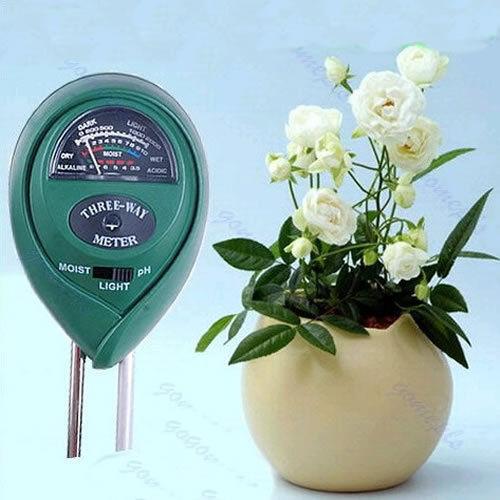 A96 3 in1 Flowers Plant Soil PH Tester Moisture Light Meter hydroponics Analyzer