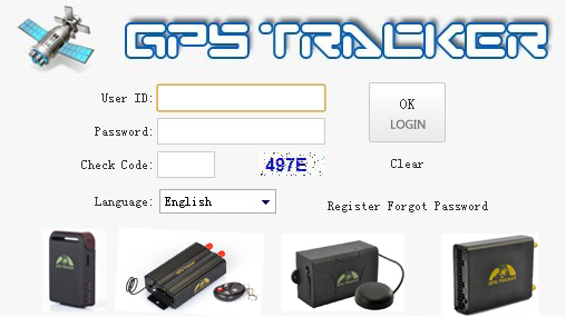 Google map gps satellite tracking software for gps tracker TK103(China (Mainland))