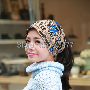 womens hats,beanie hat,Autumn winter Knitting Wool Hat for Women Caps Lady Beanie Knitted flag design(China (Mainland))