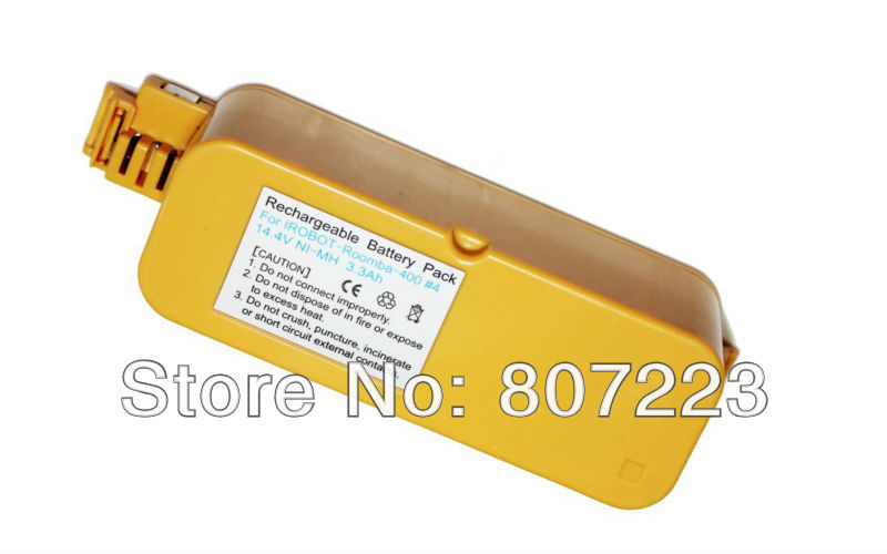 OEM  iRobot Roomba 400 series  Cleaner battery 14.4V 3.3Ah Ni-Mh