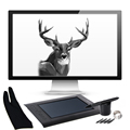 Huion H610 Pro 10x6 25 USB Art Animation Digitizer Graphics Drawing Tablet Cordless Digital Pen BI003