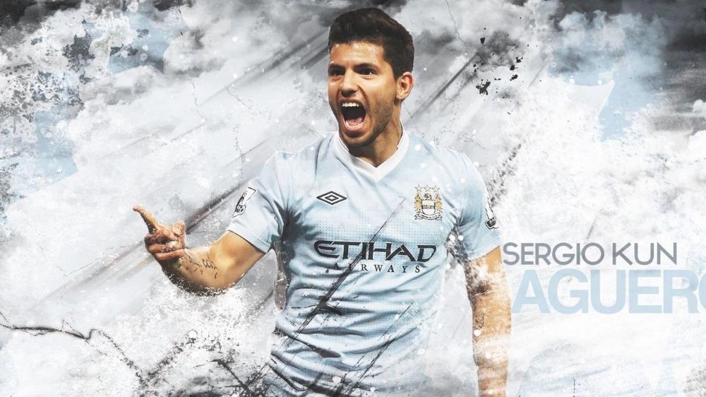 Goedkope Slaapkamer Decoratie : Sergio Aguero Manchester City
