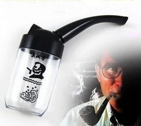DZ002 Water Smoking Tobacco Pipe Cigarette Cigar Holder Hookah Filter Smoke Pipe 2014 New Smoking Accessories Free Shipping(China (Mainland))