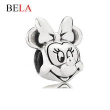 Christmas Present Bead Authentic Silver Plated 925 Meany Charm Fit Original Charms Bracelet Necklace DIY Carton Jewelry PS3353