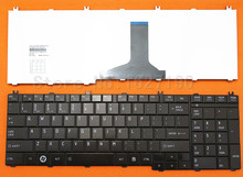 NEW US layout/Letter Laptop Keyboard for TOSHIBA Satellite C650 C660 L650 L670 GLOSSY