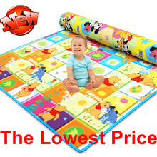 New Arrive Doulble-Site Baby Play Mat 2*1.8 Cartoon Child Beach Mat Picnic Carpet Baby Crawling Mat CM-008(China (Mainland))