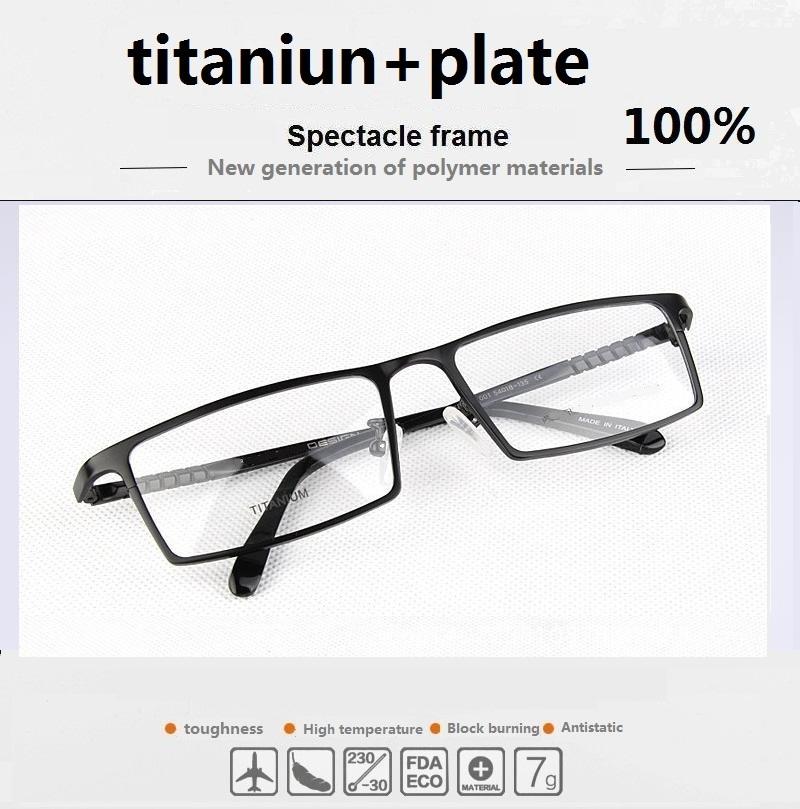 Glasses Frames Wide Faces : Aliexpress.com : Buy Business framework founder P8808 full ...