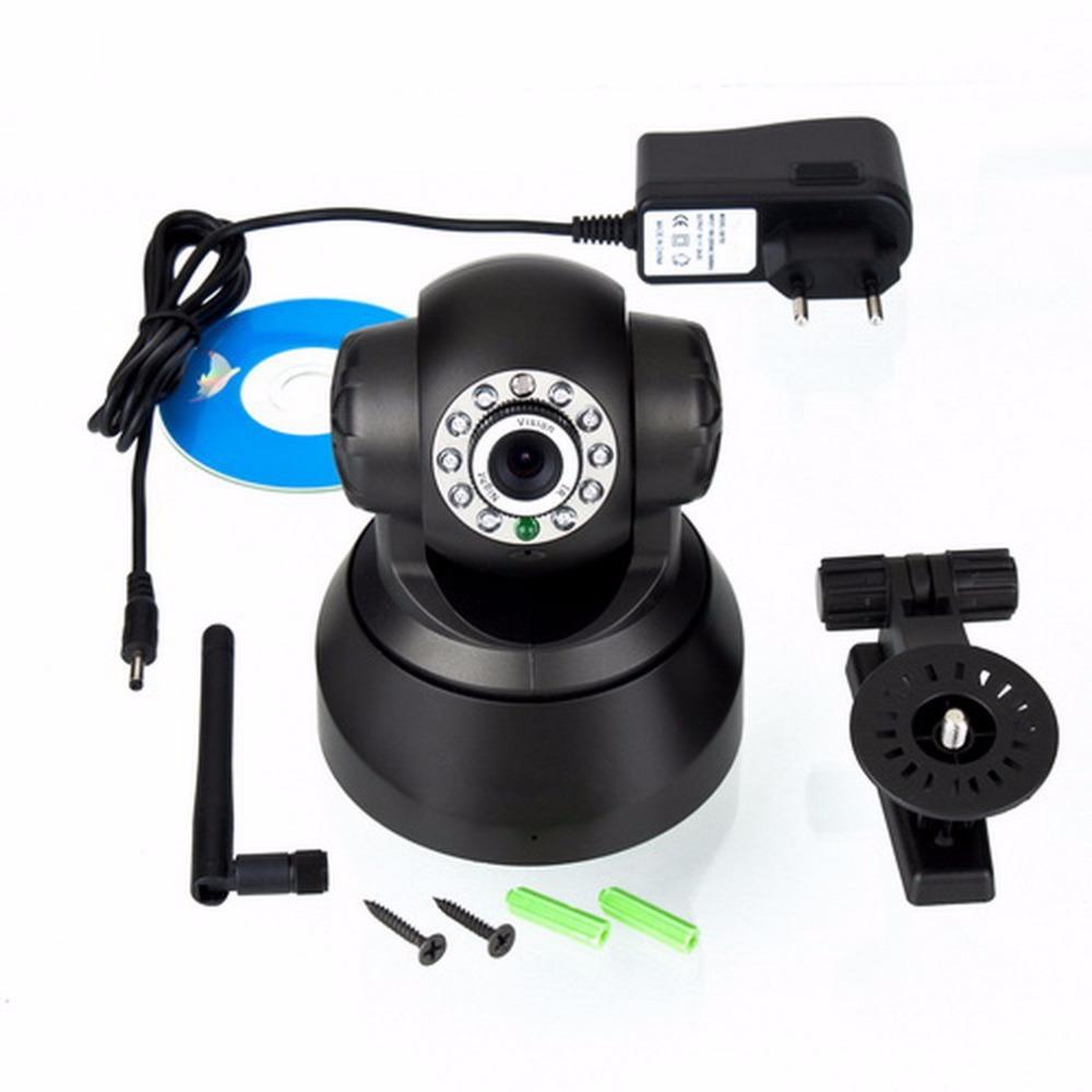 Гаджет  Top quality!!11LED Night Vision IR Webcam Web CCTV Camera Wireless IP Camera WiFi  Pan Tilt Security None Безопасность и защита