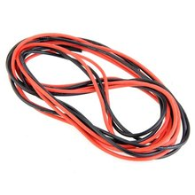 Buy JFBL Hot sale 2x 3M 14 Gauge AWG Silicone Rubber Wire Cable Red Black Flexible for $5.17 in AliExpress store