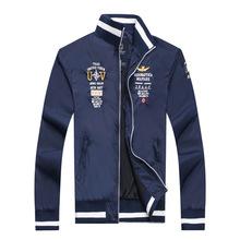 2016 Brand aeronautica militare men jacket ,Men's Sport Trench Outerwear Coat Air Force winter Jackets jaquetas military(China (Mainland))