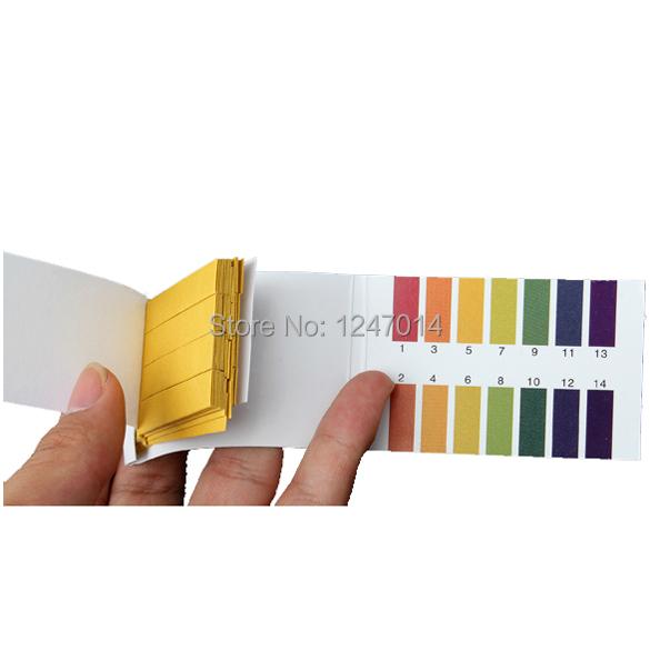New Universal 160 Full Range 1-14 pH Test Paper Strips Litmus Testing Kit N BS88 ETS88