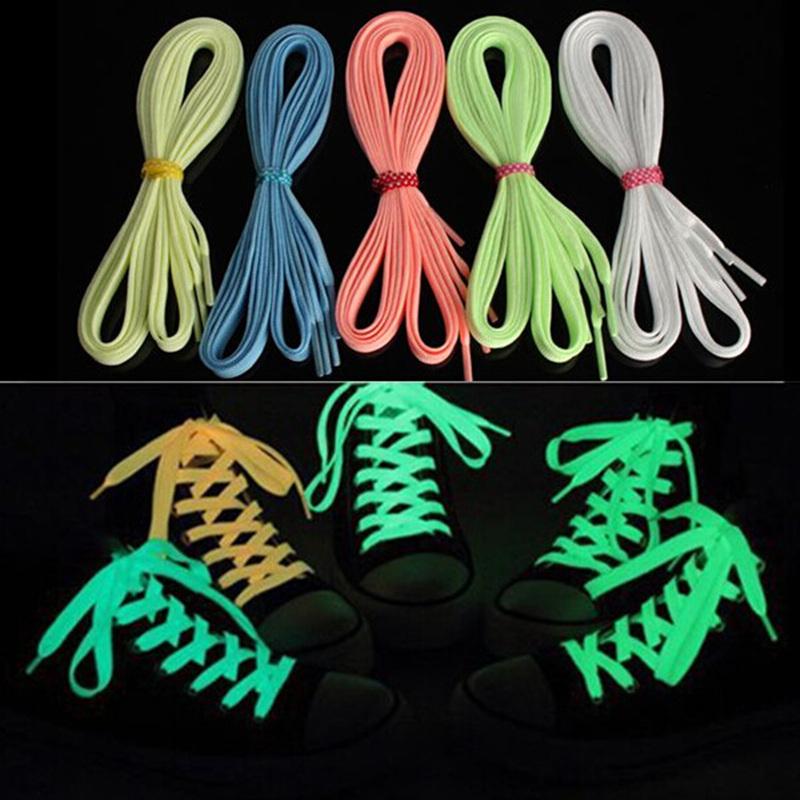Как сделать шнурки чтобы они светились