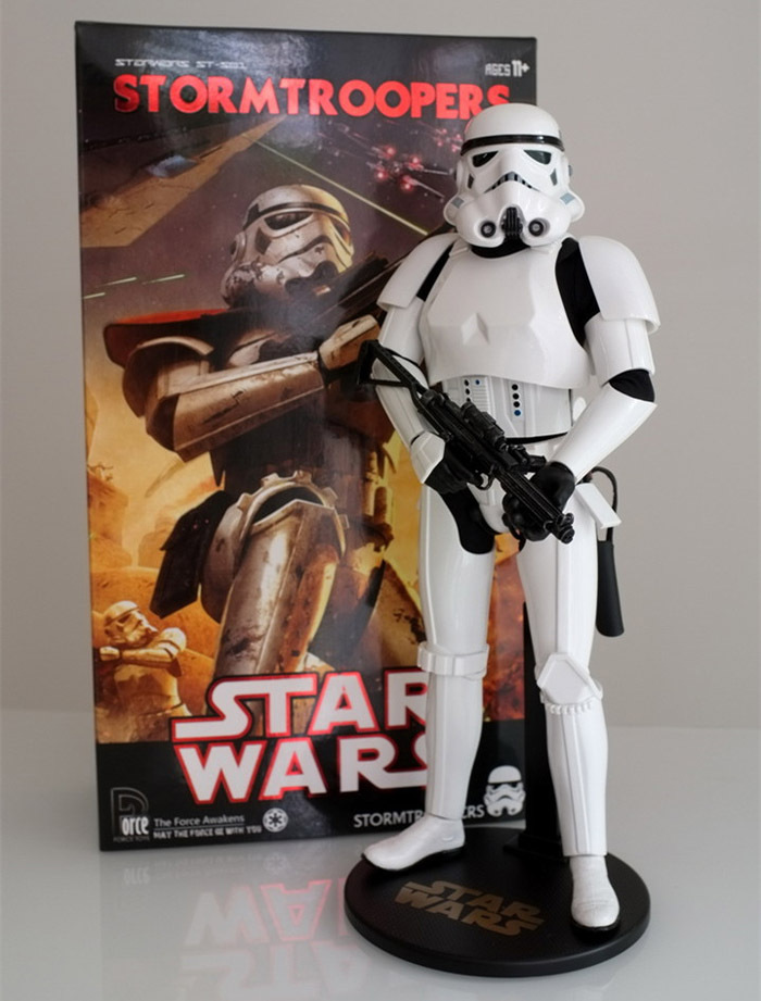 """12"""" 30CM FORCE TOYS Star Wars Stormtrooper Joint Body Boxed PVC Action Figure Collectible Model Toy Gifts(China (Mainland))"""