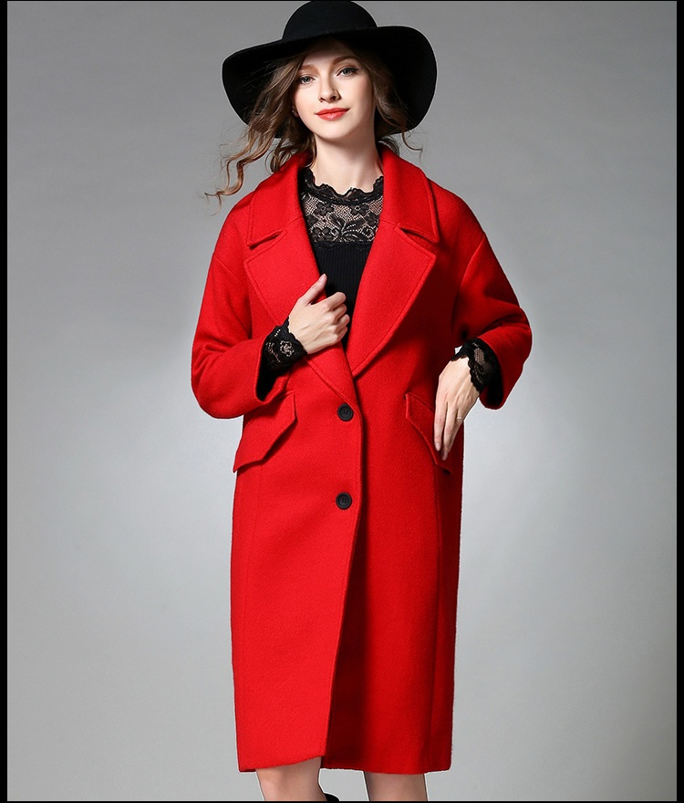 Red Wool Coat Womens Coat Racks