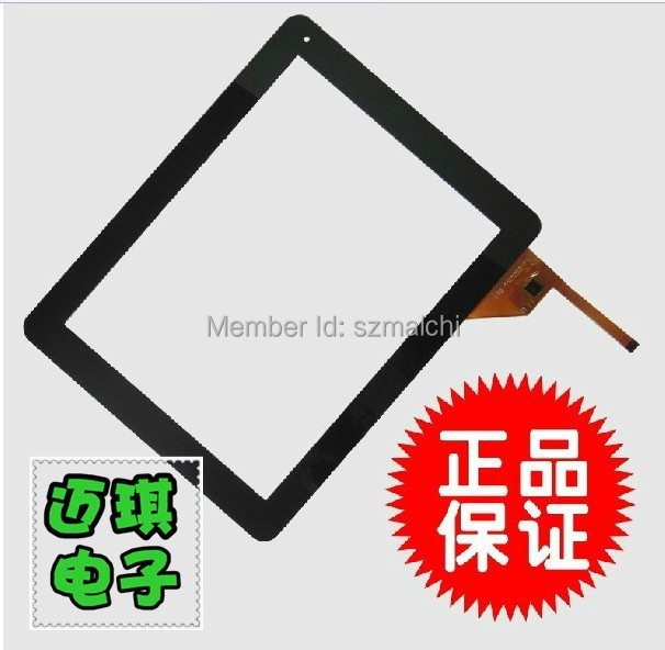9.7 inch For Newman S97 touch screen with digitizer ,YTG-P97002-F6 touch panel Free shipping White or black(China (Mainland))
