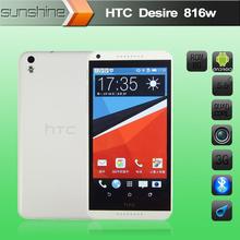 "Original HTC Desire 816 816W Mobile Phone 5.5"" QQualcomm Quad Core 1.5GB/8GB 5MP+13MP Camera WCDMA GPS Android4.4 Cell Phones(China (Mainland))"