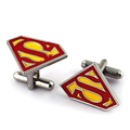 Superman Super Man Superhero Super Hero Cufflink Cuff Link Men s suit cuff cutton Free Shipping