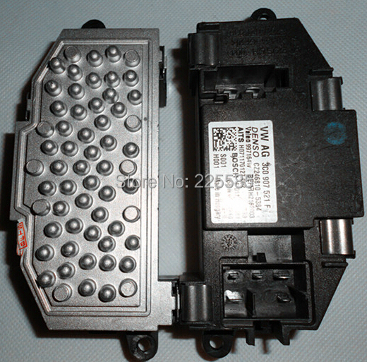 Free shipping vw heater blower motor resistor for caddy for Vw passat blower motor resistor