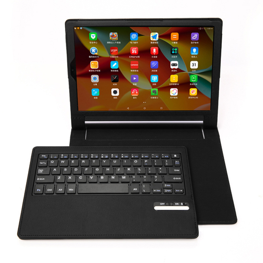 Mini Bluetooth Wireless Keyboard For Lenovo Yoga 3 Pro 10inch Keyboard With Leather Case Stand Cover USB Wired for Tablet PC(China (Mainland))