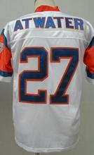 John Elway Terrell Davis Steve Atwater Men's Throwback Jersey Size 48-56(China (Mainland))