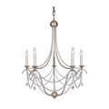 Iron tradtional Crystal chandelier 5 lights Luxury crystal light Fashion crystal light 25 5 inch chandeliers
