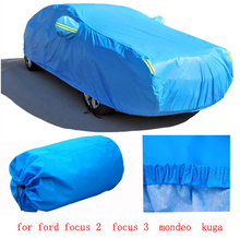 For ford focus 2  focus 3  mondeo  kuga Car covers with cotton two layer thicken Waterproof Anti UV Snow Dust covers of car(China (Mainland))