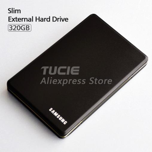 Slim Aluminum case design HDD 2.5'' External Hard Drive 320G Desktop and Laptop Portable Disk Plug and Play(China (Mainland))