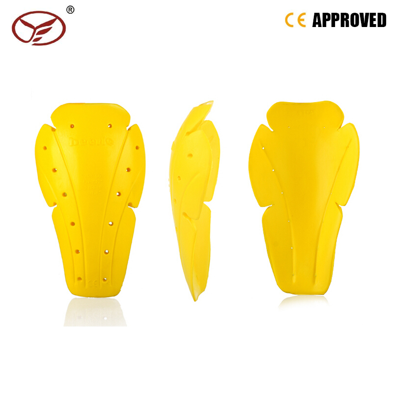 2017 Hot Motorcycle Soft Armour Kit Shoulder Elbow Knee Protector Pad Body Armor Yellow Type B Protective Gears Back Protector(China (Mainland))