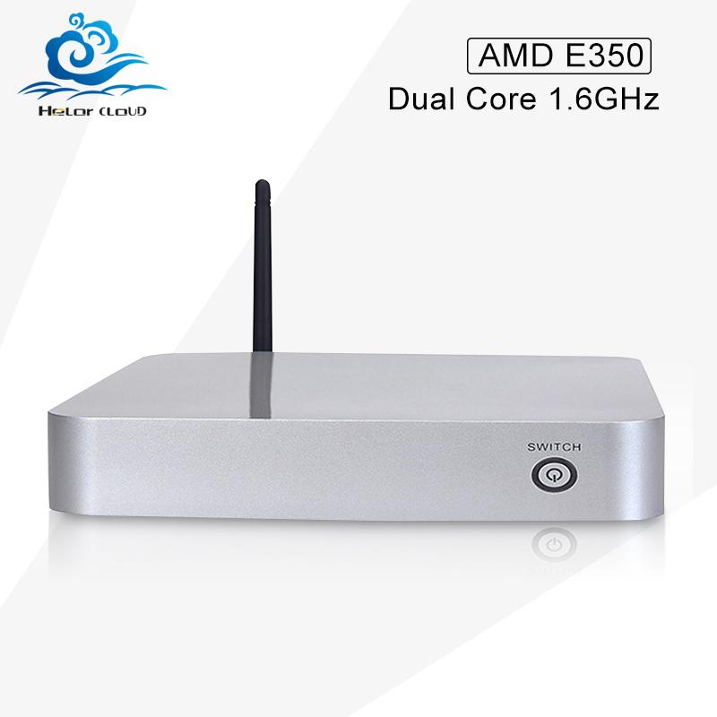 Cheapest Win xp 7 linux MINI PC APU E E350 TV Box Micro Computer HD Graphic wireless bluetooth With VGA WIFI(China (Mainland))