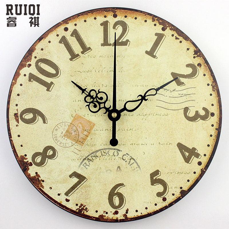Fashion Meeting Room Wall Decor Clocks Absolutely Silent