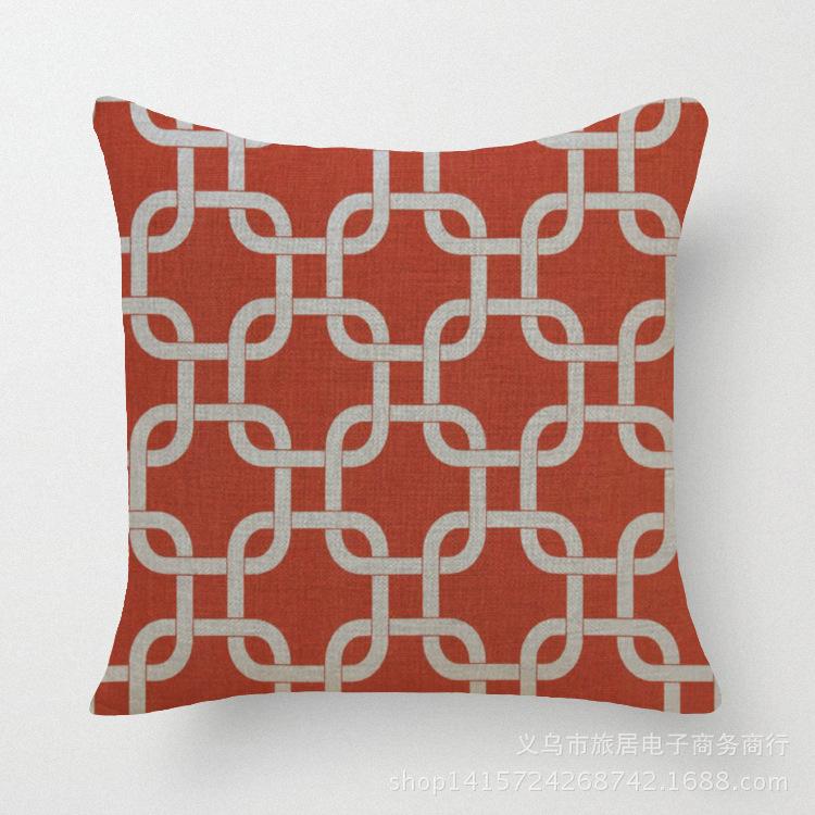 18 geometric home decor sofa cushion modern decorative - Cojines decorativos para sofas ...