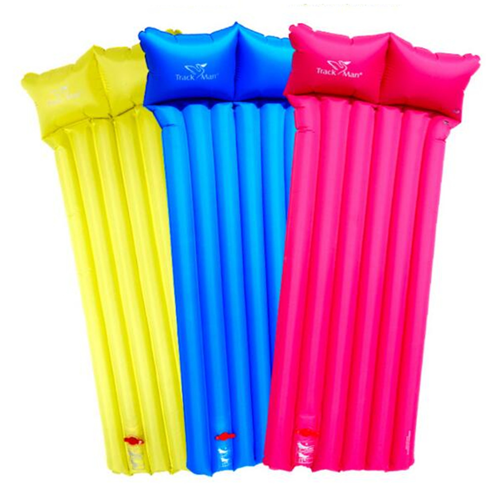 Inflatable Beach Mat Float Hand Press Inflat Ultralight