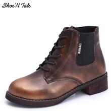 Shoe'N Cuento 2015 Marca Mujeres Impermeables Botas Botines Mujeres Botas Zapatos de la Nieve de Calidad Cómoda(China (Mainland))