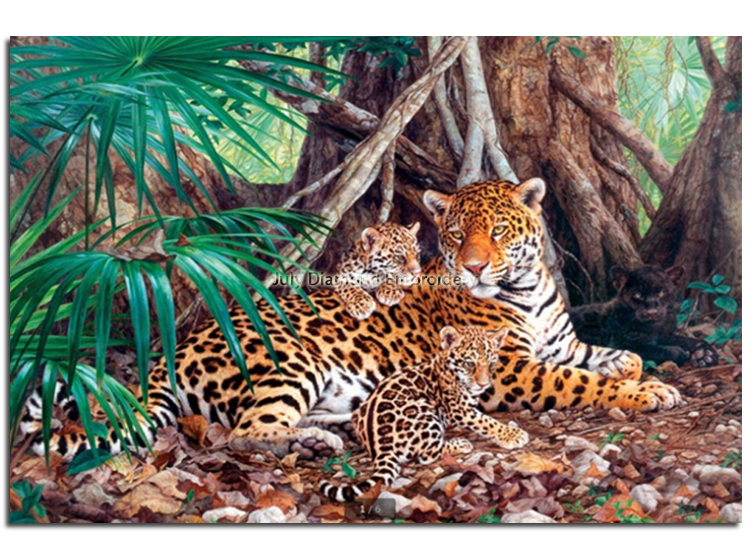 Baby tiger cute Mosaic picture of animal Cross stitch diamond embroidery Painting by numbers of diamonds rhinestones handcraft(China (Mainland))