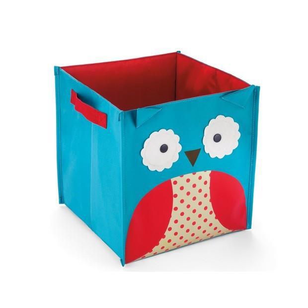 Children Cute Animal Toys Organizer Canvas Folding Clothing Storage Boxes Bins Owl Bee(China (Mainland))