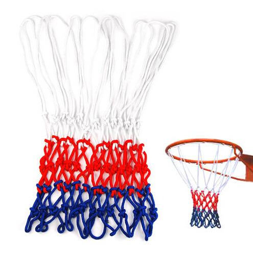 Standard Durable Nylon Basketball Goal Hoop Net Netting Red/White/Blue Sports(China (Mainland))