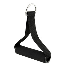 Pull Handles Resistance Bands Foam Handle Replacement Equipment Black For Yoga Exercise Workout Gym Useful Free