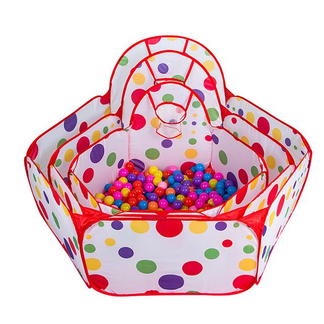 1 м 1.2 м 1.5 м дети безопасный игры палатка с 50 шт. шариками шарики портативный ...