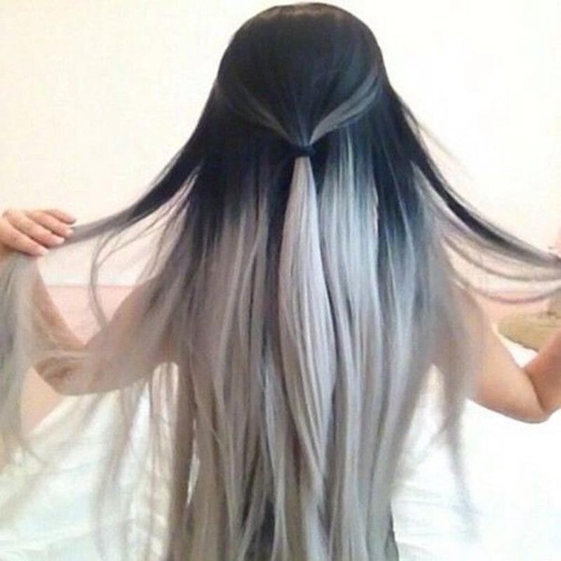 Как сделать цвет волос белым в