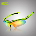 Basecamp 5 Lens Polarized Cycling Glasses MTB 2016 TR90 Cycling Eyes Men Glasses Goggles Cycling Eyewear