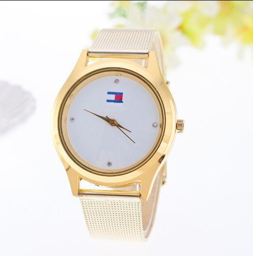 2016 New arrival Fashion European Style Quartz Watch Luxury Brand Watches Men Dress Watch Rhinestone Braid Steel WristWatches<br><br>Aliexpress