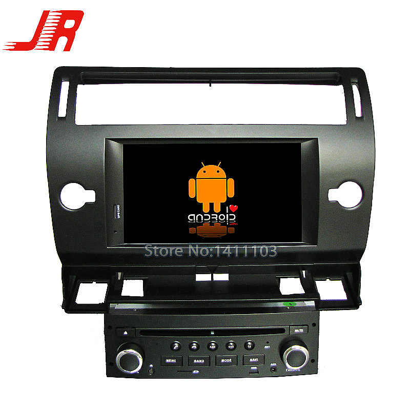 FOR CITROEN C4 car audio Quad Core Android 4.4 Car DVD GPS player Cortex A9 1.6GHz ar multimedia car stereo(China (Mainland))