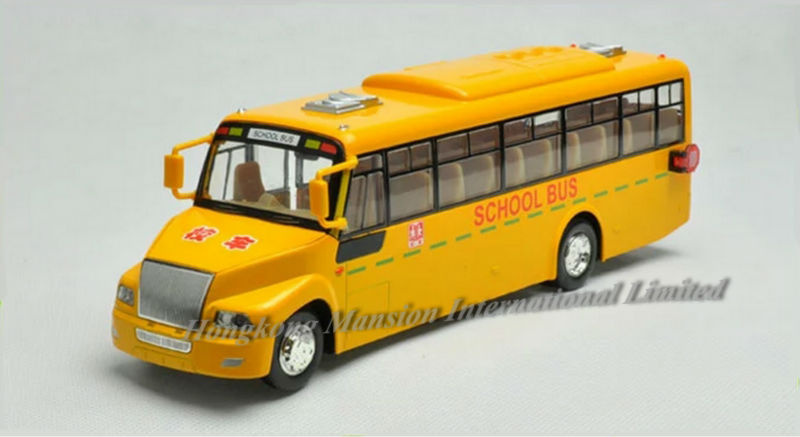 132 Car Model For Amecican School Bus style 1 (2)