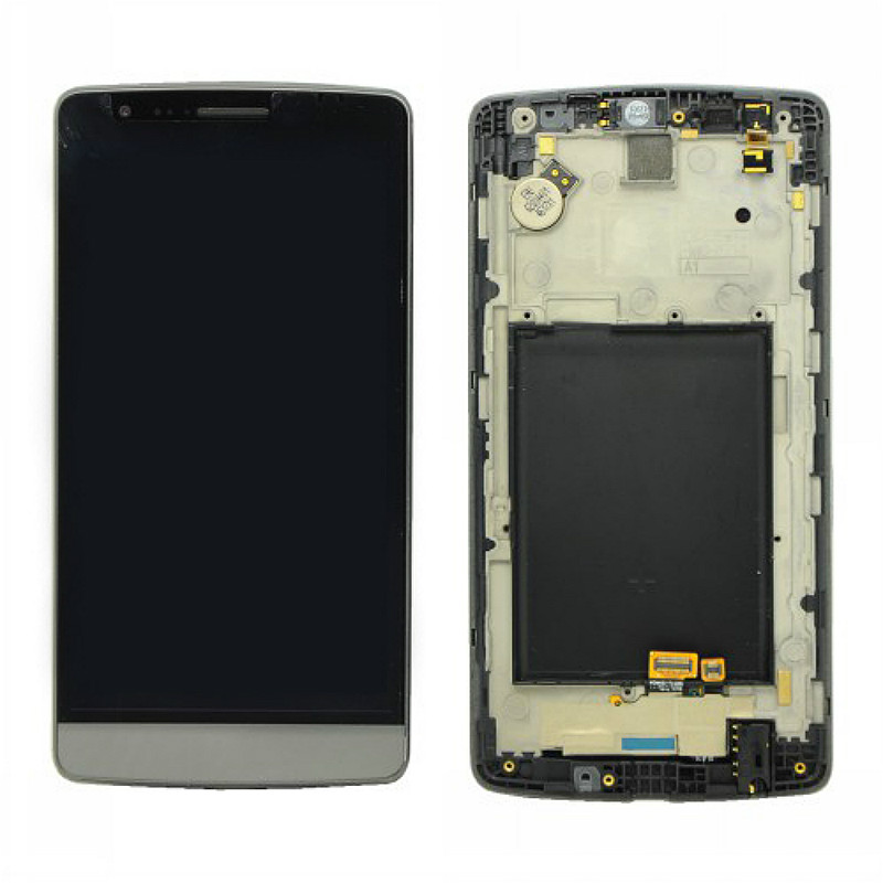 For lg Optimus G3 Mini D722 D724 Lcd Display Screen And Touch Digitizer With Frame Assembly Replacement Parts Free shipping