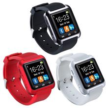 2016 Hot U80 Bluetooth Smart Watch Fashion Android Watch Sport Wrist LED Watch Pair For iOS Android Phone U8 U9 Smartwatch